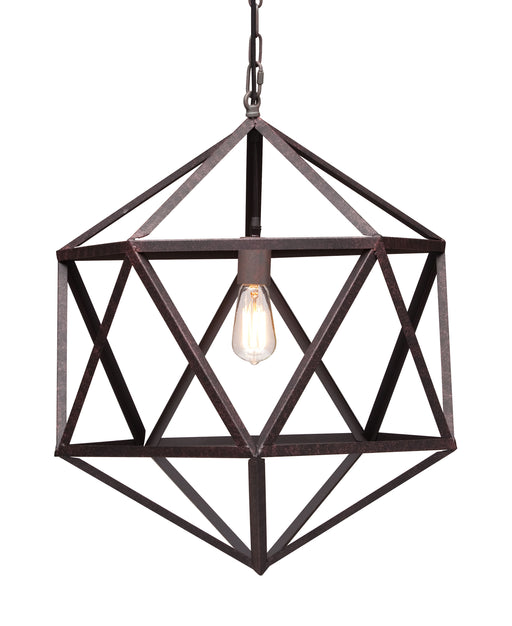 Amethyst Ceiling Lamp Small