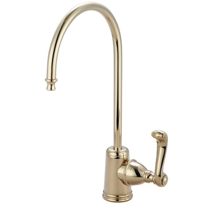 Kingston Brass Ks7192fl Royale Single Handle Water Filtration Faucet, Polished Brass - Polished Brass