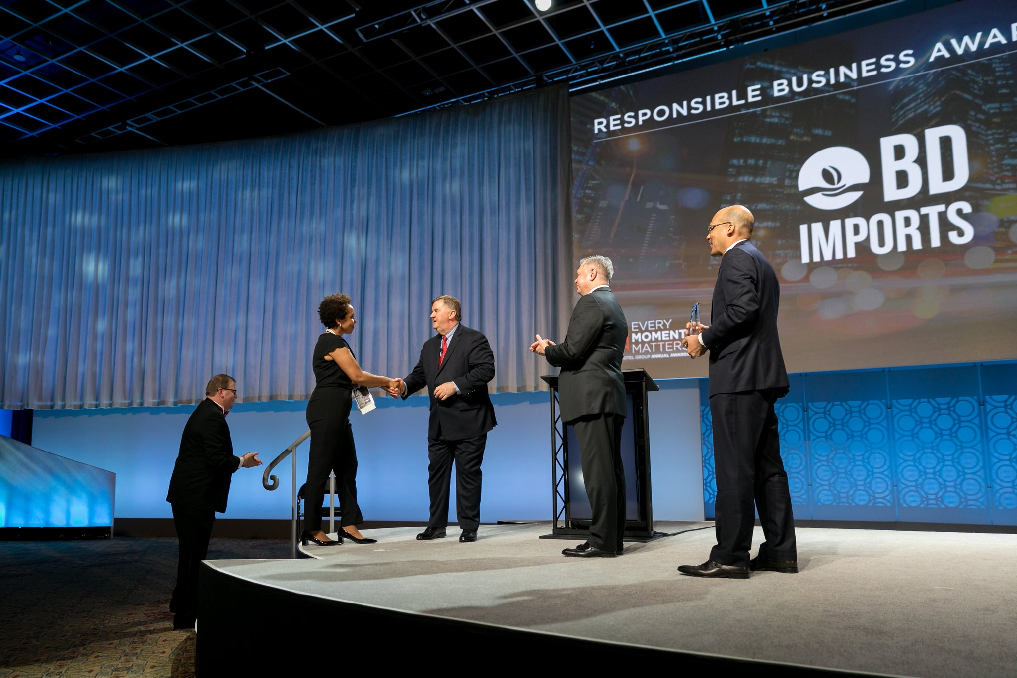 Radisson Hotels Recognizes BD Imports as Responsible Business Supplier of the Year