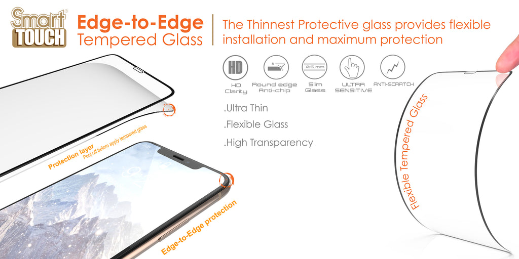 EDGE TO EDGE TEMPERED GLASS
