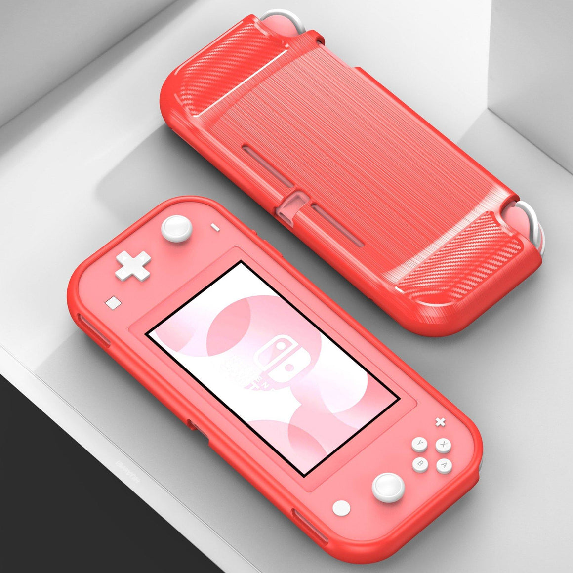 Flex Gel Suitable For Nintendo Switch Lite Red