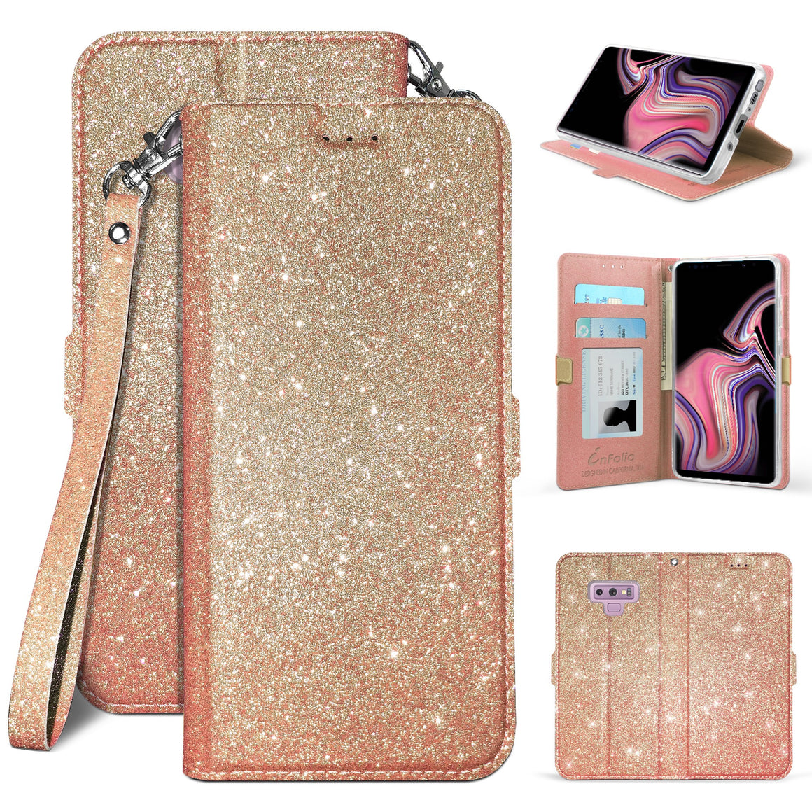Infolio B For Samsung Galaxy Note 9 XT1922 XT1925 Rose Gold