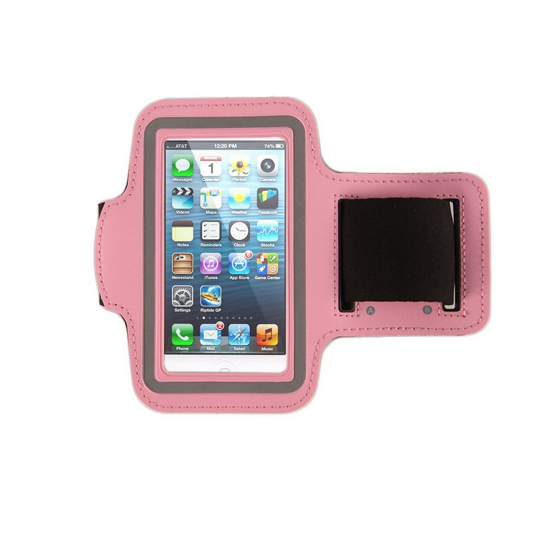 Neoprene Armband Size 01 For Iphone 4G/4S/5/5C/5S & I touch 5th Gen & Samsung i437/s4M & LG W7 & kyocera C6721/C5120 & Nokia 521 Pink