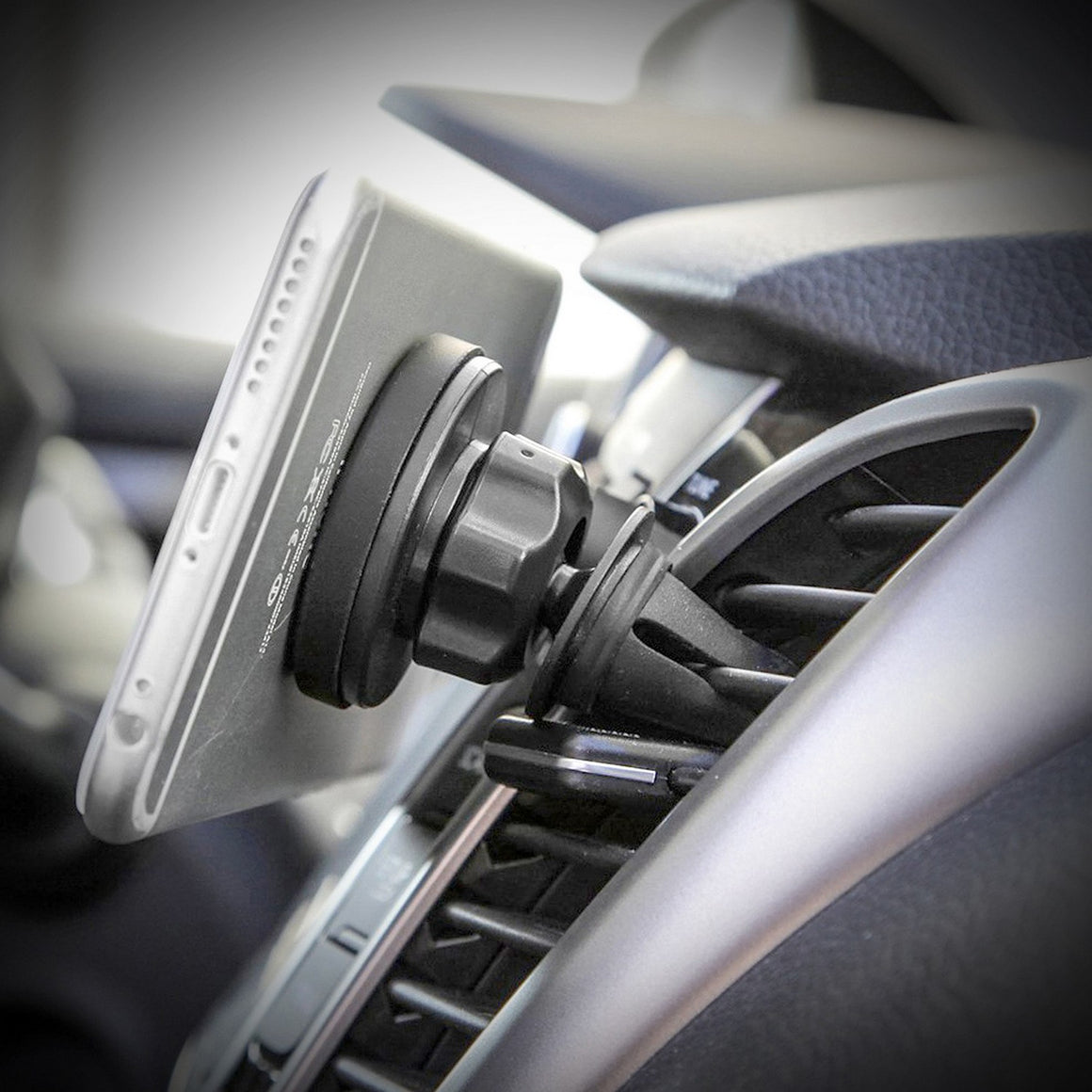 Universal Magnetic Car Mount Holder Black