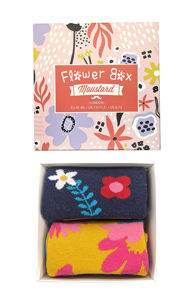 Flower Socks Box