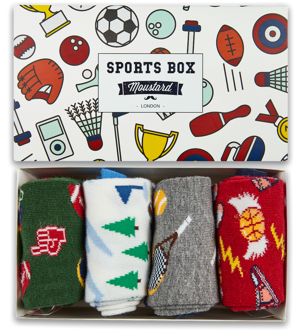 Sports Socks Box