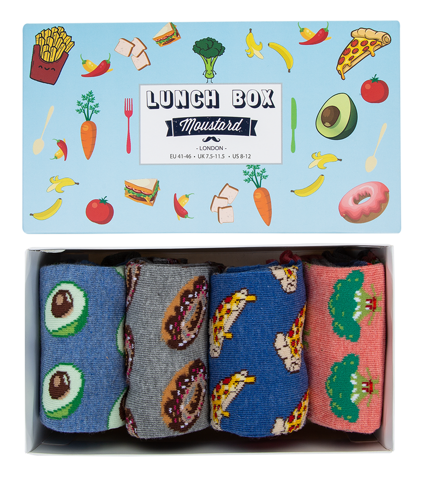 Lunch Socks Box