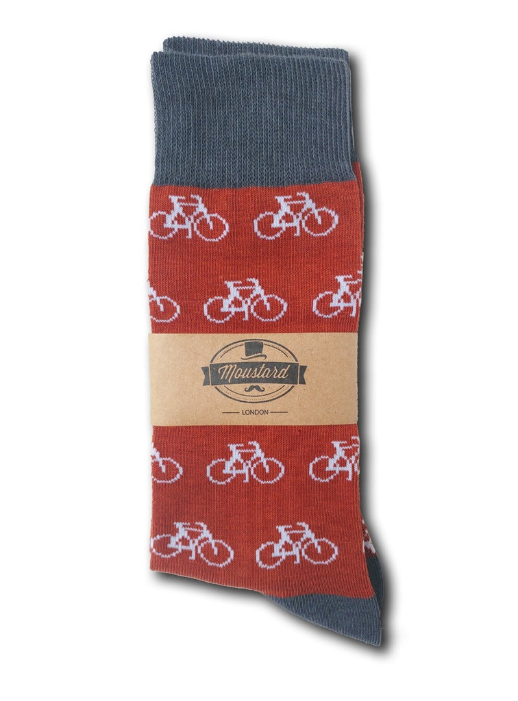 Amsterdam red socks label