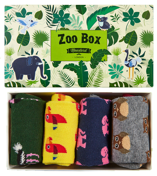Animal Socks Box