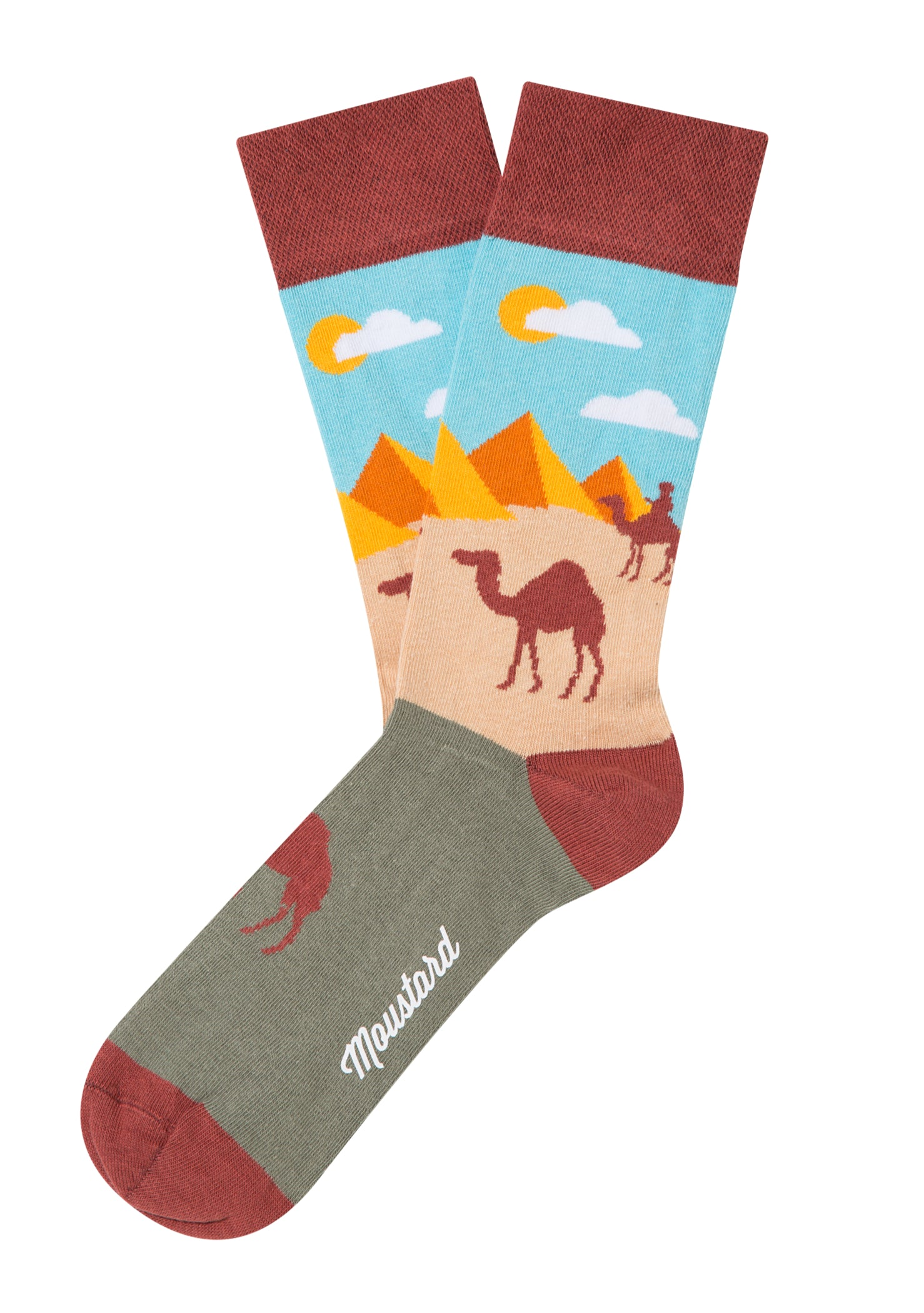 Pyramids and Camels Socks