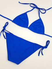 Royal Blue Full Bikini