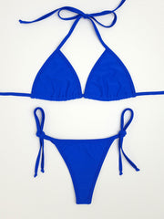 Royal Blue Brazilian Bikini