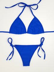 Royal Blue Cheeky Bikini