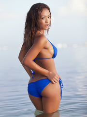 Royal Blue Scrunch Butt Bikini