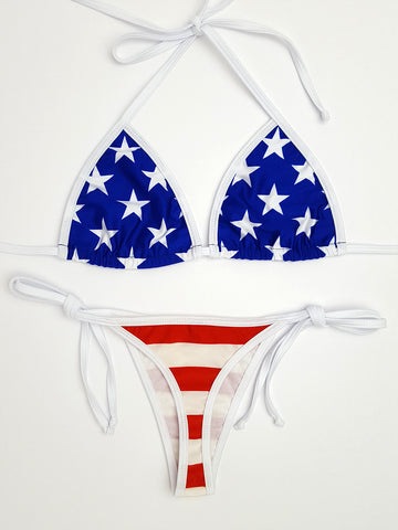 Stars and Stripes Brazilian Bikini
