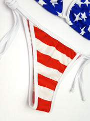 Stars and Stripes Cheeky Bikini