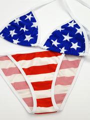 Stars and Stripes Full Bikini