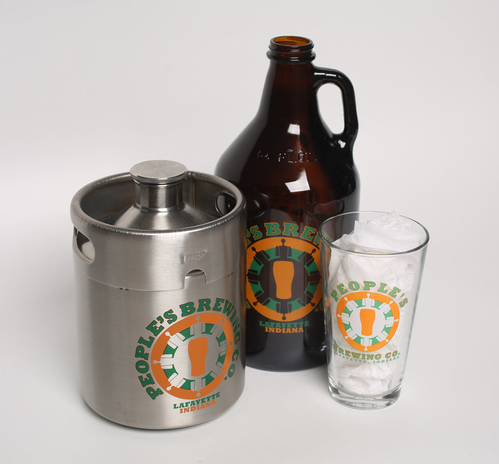 People's Stainless Growler