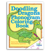 Doodling Dragons Phonogram Coloring Book