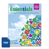 Essentials Units 8-15 Student Workbook PDF Cover