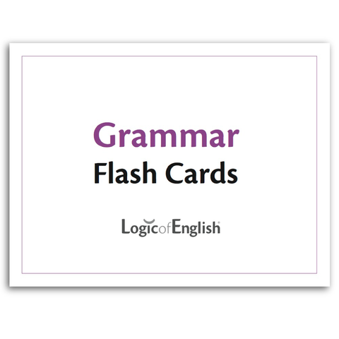 Grammar Flash Cards