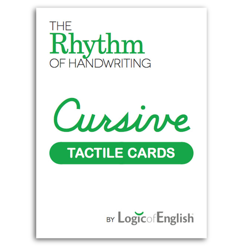 Rhythm of Handwriting Tactile Cards