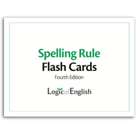 Spelling Rule Flash Cards