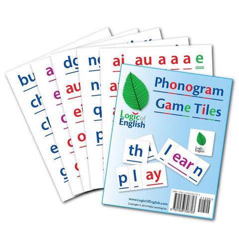 Phonogram Game Tiles