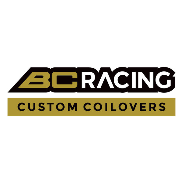 "BC Racing 12"" Tagline Sticker"