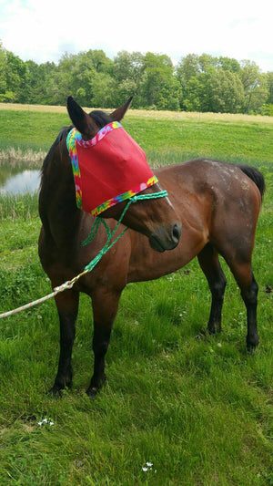 Fly Mask For Horses, Handmade in the USA Montana, Fly Protection, Tie Dye