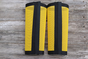 Fly Protective Leg Wraps / Leggings For Horses, Tapered Style Set Of Two,Fly Protection For Horses, Yellow