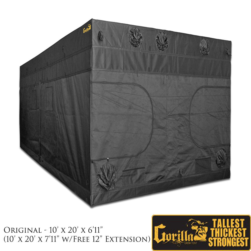 sc 1 st  GrowersLights & Gorilla Grow Tent 10u2032 X 20u2032 Grow Tent | GrowersLights