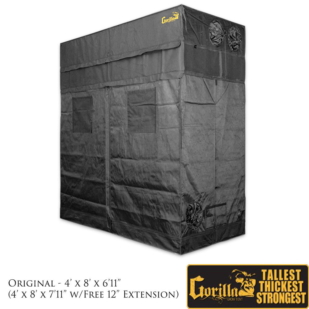 sc 1 st  GrowersLights & Gorilla Grow Tent 4u2032 X 8u2032 Grow Tent | GrowersLights
