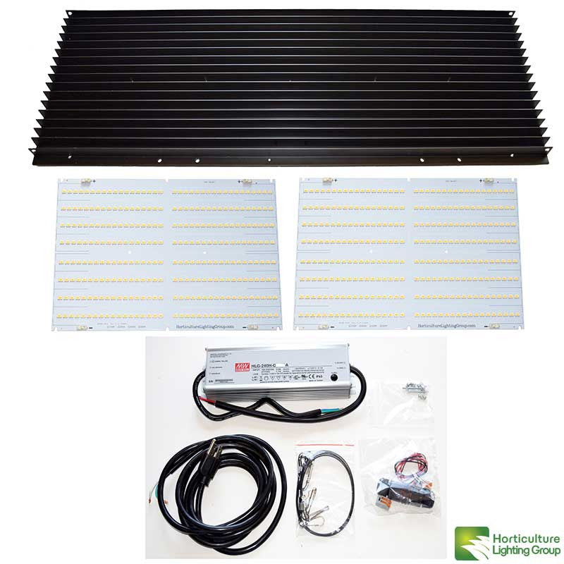 Horticulture Lighting Group 260 Watt Quantum Board LED Kit V2 Rspec