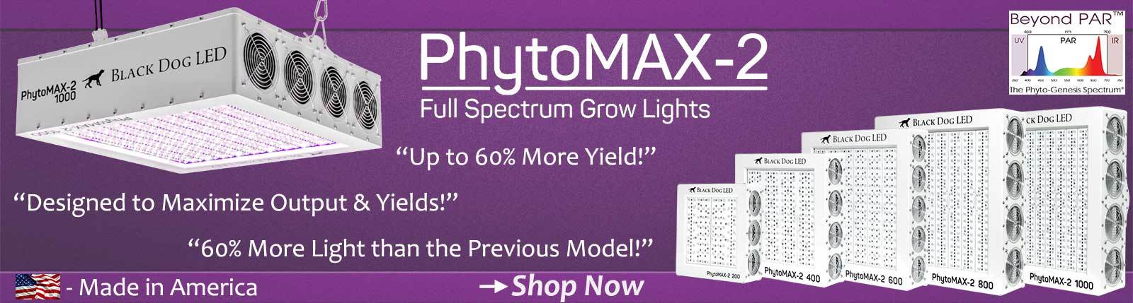 Black Dog LED PhytoMAX-2 Banner | GrowersLights