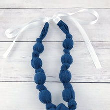 Teething & Nursing Necklace - Solid Navy