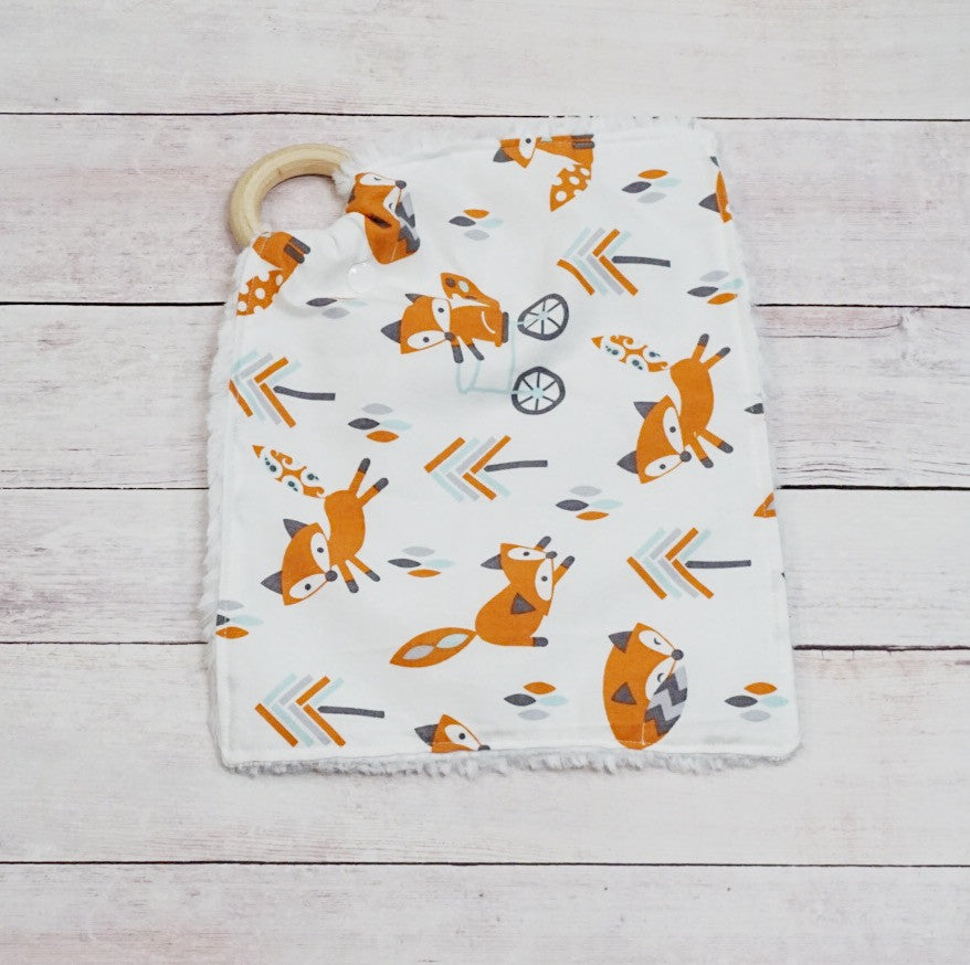 Teething Lovey - Woodland Fox