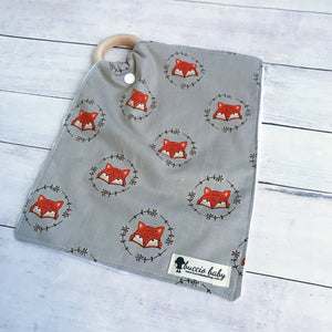 Vintage Fox Teething Lovey