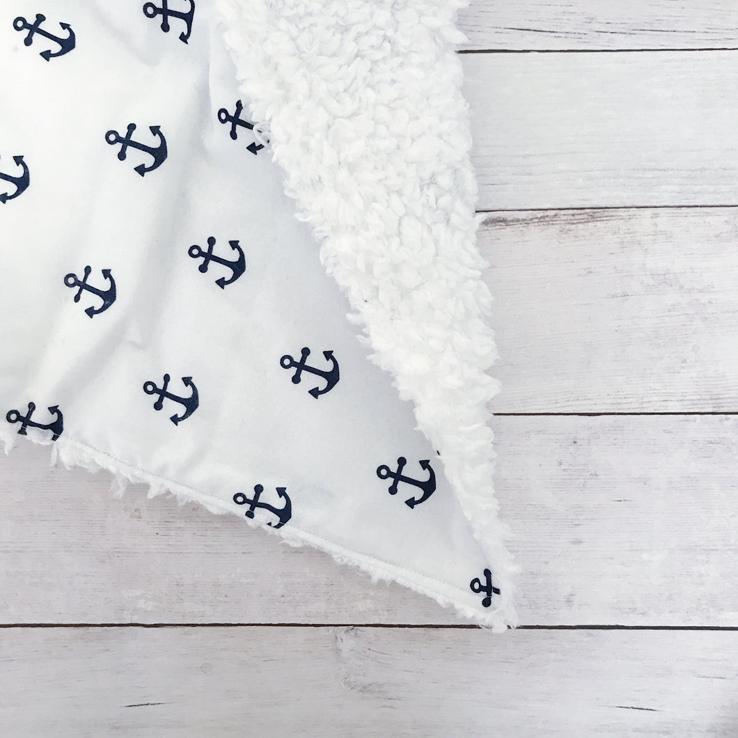 Anchors Away Oversized Lovey