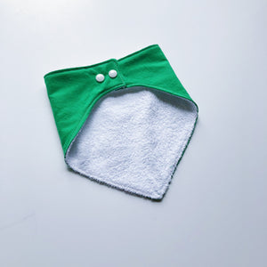 Kelly Green Bandana Bib