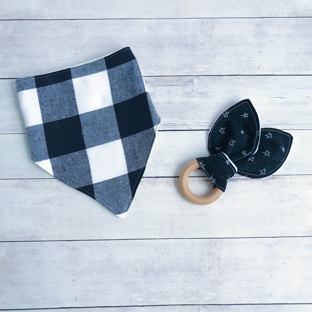 Black and White Buffalo Plaid Mini Bundle