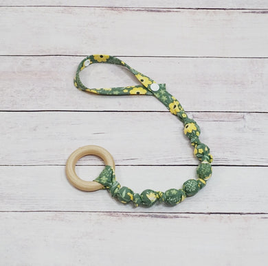 Teething Leash - Spring Blossom