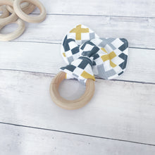 Mustard Cross Organic Wooden Teether