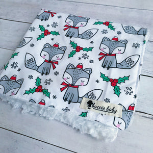 Winter Fox Oversized Lovey