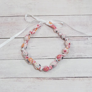 Teething & Nursing Necklace - Woodland Floral