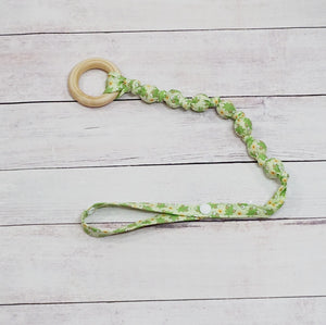 Snap-on Teether - Spring Frog