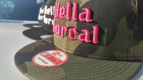 Hella Norcal Hats and Beanies