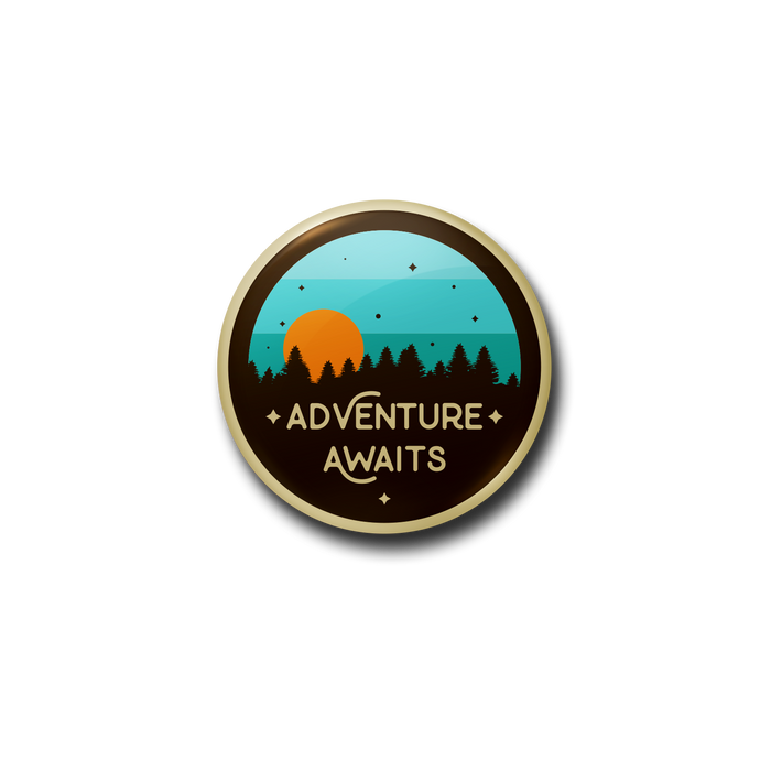 Adventure Awaits Button