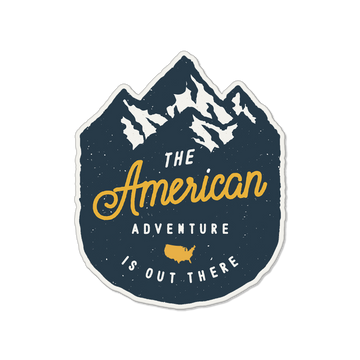 American Adventure Sticker