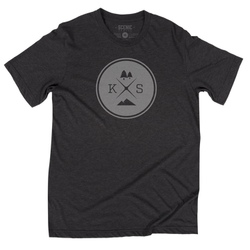 KS Adventure Tee | Unisex | Dark Grey Heather